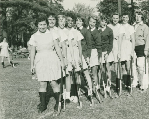 Springfield College varsity field hockey team