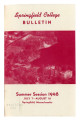 Summer School Catalog, 1948