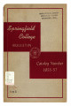 Springfield College Bulletin, Catalog Number, 1955-57