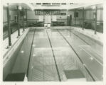 Pool with lights, McCurdy Natatorium