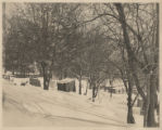 Trailer park during the winter (1930)