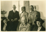 Alvah L. Miller with others