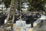 West Gymnasium Cornerstone Ceremony, 1910