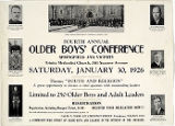 Fourth Annual Older boys' Conference, 1926