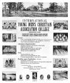International YMCA College Regular Course poster, 1917