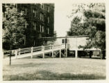 Ramp leading to Enclosed Walkway (c. 1946)