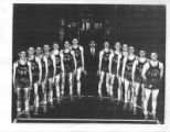 Copy of a picture of the 1947-1948 Saint Louis University Basketball Team