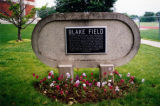 Blake Field plaque (2000)
