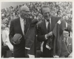 Art Linkletter and Paul G. Benedum at field dedication (1971)
