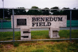 Benedum Field sign