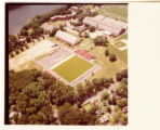 Aerial view of Benedum Field