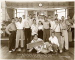 The Harlem Globetrotters at the La Perla Cigar and Cigarette Factory in  Paranaque, Philippines on...