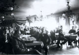 Dinner at Dormitory Dining Room, c. 1900