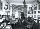 Dorm Room of Elmer Ackerman, c. 1903
