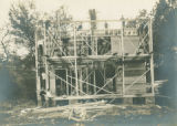 Gladden Boathouse Frame Construction, 1901