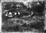 Students Preparing to Dig Boathouse Foundation, 1901