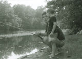 People fishing at Camp Massasoit