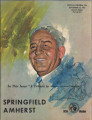 Official Program, Springfield College vs. Amherst College, Sept. 25, 1965