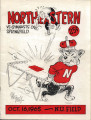 Official Program: Northeastern vs. Springfield College, October 16, 1965