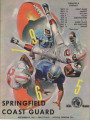 Official Program, Springfield College vs. US Coast Guard, September 18, 1965