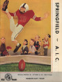 Official Program, Springfield College vs. American International College, October 23, 1965