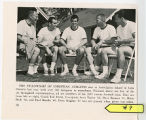 Members of the Undefeated 1965 football team