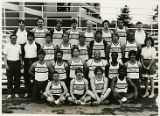 Track and field team of 1984