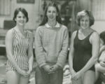 Three Swimmers from the 1976-77 SC Swimming and Diving Team