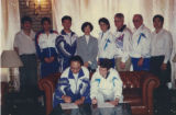 The signing of the first Fok Physical Education and Sport Exchange Programs agreement, March 17,...