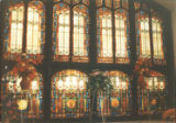 Stained Glass Windows in Marsh Memorial Building