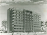 Architectural Sketch of International Hall