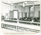 Woods Hall, First Floor Dining Room, 1943