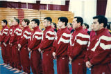 Springfield College men's gymnastics team, ca. 1985