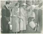 Beveridge Center Cornerstone Laying Ceremony, 1958