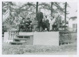 Speaker at Beveridge Center Cornerstone Laying Ceremony, 1958