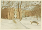 Beveridge Center and Abbey/Appleton Halls in Winter