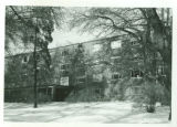 Massasoit Hall in Winter, Rear View