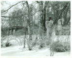 Massasoit Hall Winter Scene