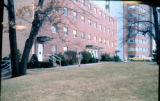 Reed Hall and International Hall, March 1976