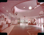 Original Gym Replica in Basketball Hall of Fame, 1968