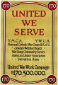 World War I Poster - United We Serve
