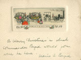 Marie A. Byrd Christmas Card to C. Ward Crampton