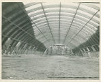 The interior of the Memorial Field House during the Reconstruction at Springfield College, 1947