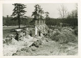Construction of the Memorial Field House, 1947