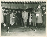 The Ground Breaking Ceremony of Memorial Field House at Springfield College, 1947