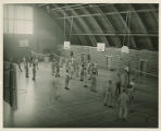 Students playing Volleyball in the Memorial Field House