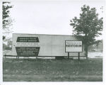 The Linkletter Natatorium construction site signs, 1966