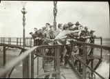 Scouts on Pier (c. 1911)