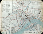 Colored Map of Rotterdam (c. 1911)