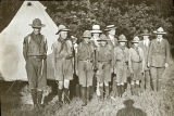Boy Scouts at Campsite (c. 1911)